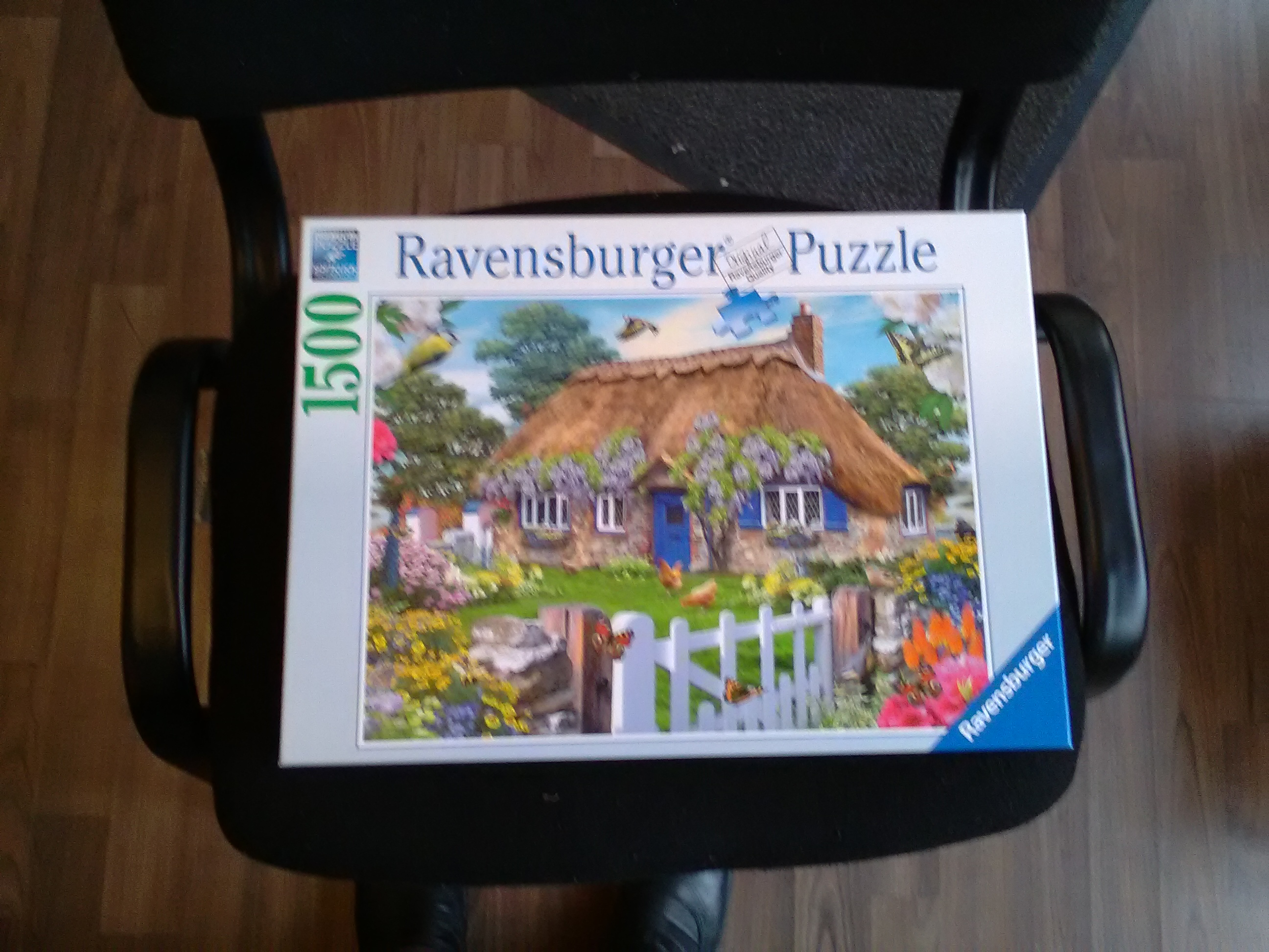 Puzzle, 1500 Teile, Cottage in England kostenlos